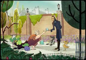 [LesMis] Javert/Valjean, brand new world