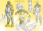 Apollo redesign - model sheet