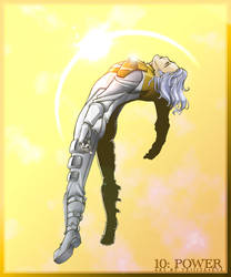 Apollo soaks in the sun by vejiicakes