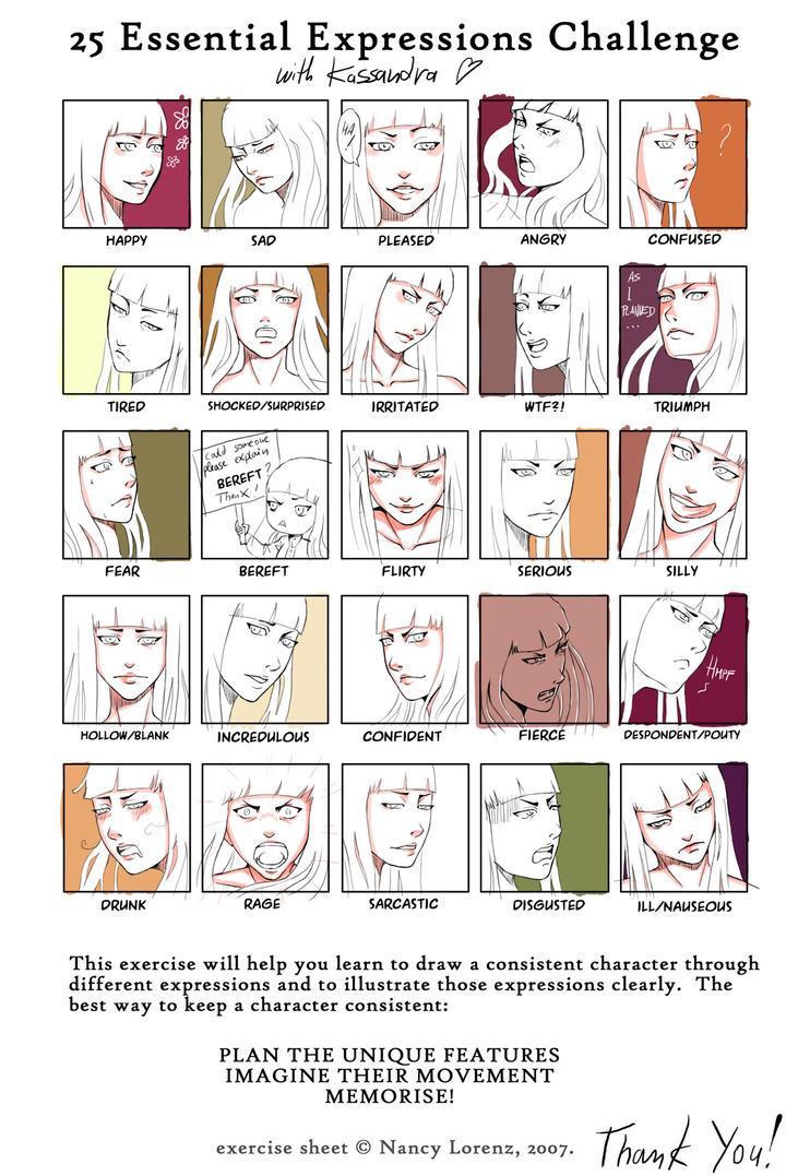 25 Expressions: Kassandra by Tacaret
