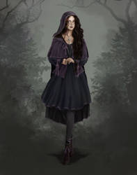 Lady Rosavae Evelyn Belletere by VinogradovaArtroom