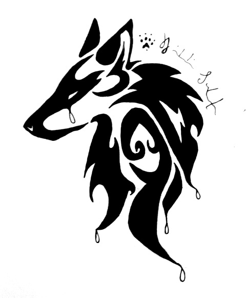 cry wolf tribal by peace wolf on deviantart. Black Bedroom Furniture Sets. Home Design Ideas