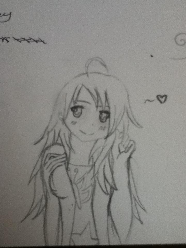 random anime girl! by casio1241
