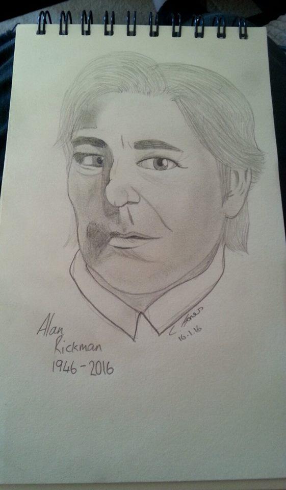 R.I.P Alan Rickman by casio1241