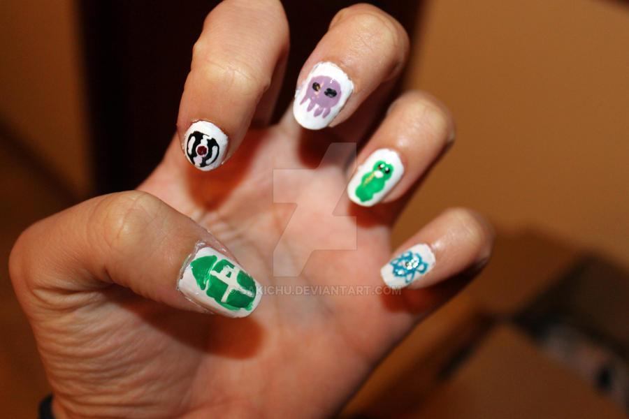 Beta kids nails by SakiChu