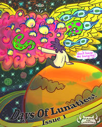 Cover For Issue1. The Awakening.