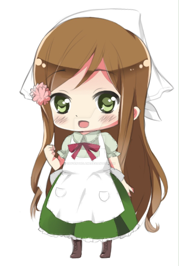 Chibi Hungary by amyluv3