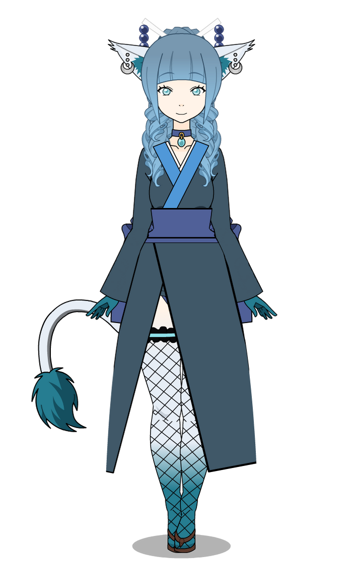 Glaceon {Pokemon Gijinka} by GaygerTheLame on DeviantArt