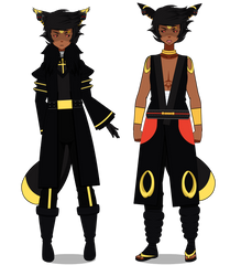 Umbreon's Alternate Outfit {Pokemon Gijinka} by GaygerTheLame