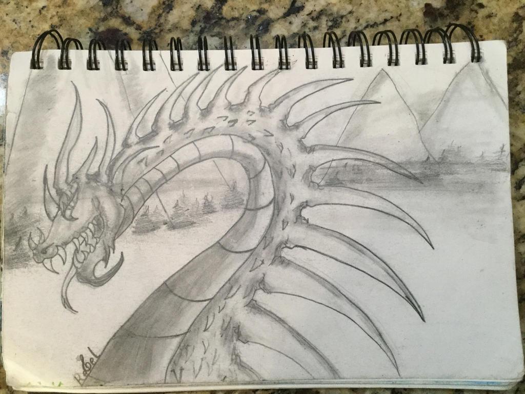 Dragon by TrebleDaRebel