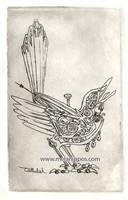 clockwork bird by melanippos