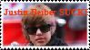 -Justin Bieber SUCKS Stamp-