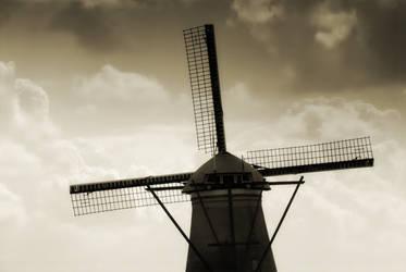 Wind mill - Holland by skliz3tch