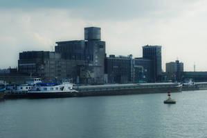 Rotterdam in blue