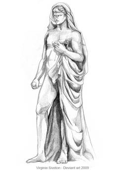 Doodle at the Louvre 2009