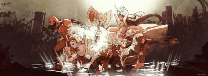 Diablo III by VirginieSiveton