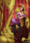 Raiponce - Rapunzel - Tangled by VirginieSiveton