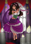 Pinup: Esmeralda by VirginieSiveton