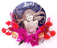 Virginie Siveton Greatings 2013 ! Happy New Year!