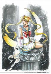 Sailormoon by VirginieSiveton