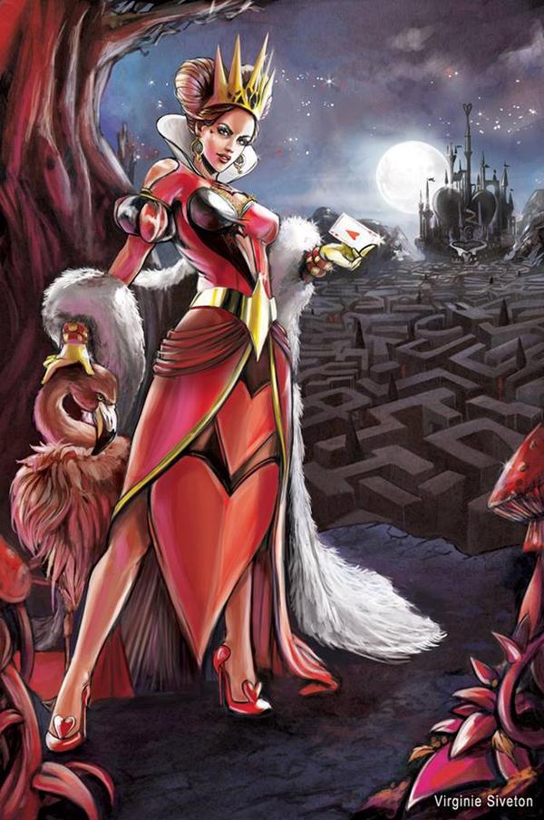 Queen Of Heart by VirginieSiveton