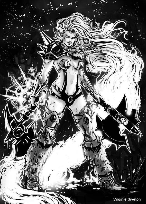 Barbarian Starfire by VirginieSiveton