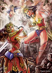 Wonder Woman VS other versions of Wonderwoman
