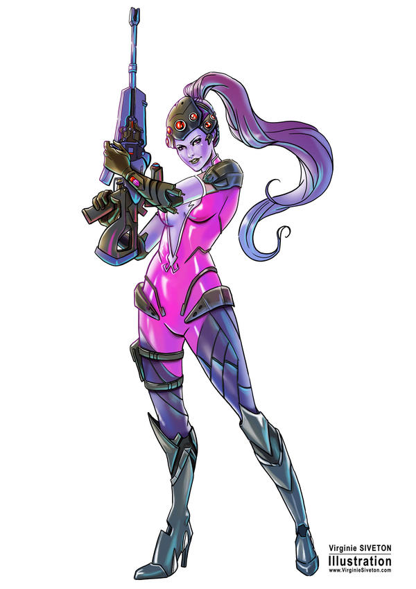 Widowmaker by VirginieSiveton