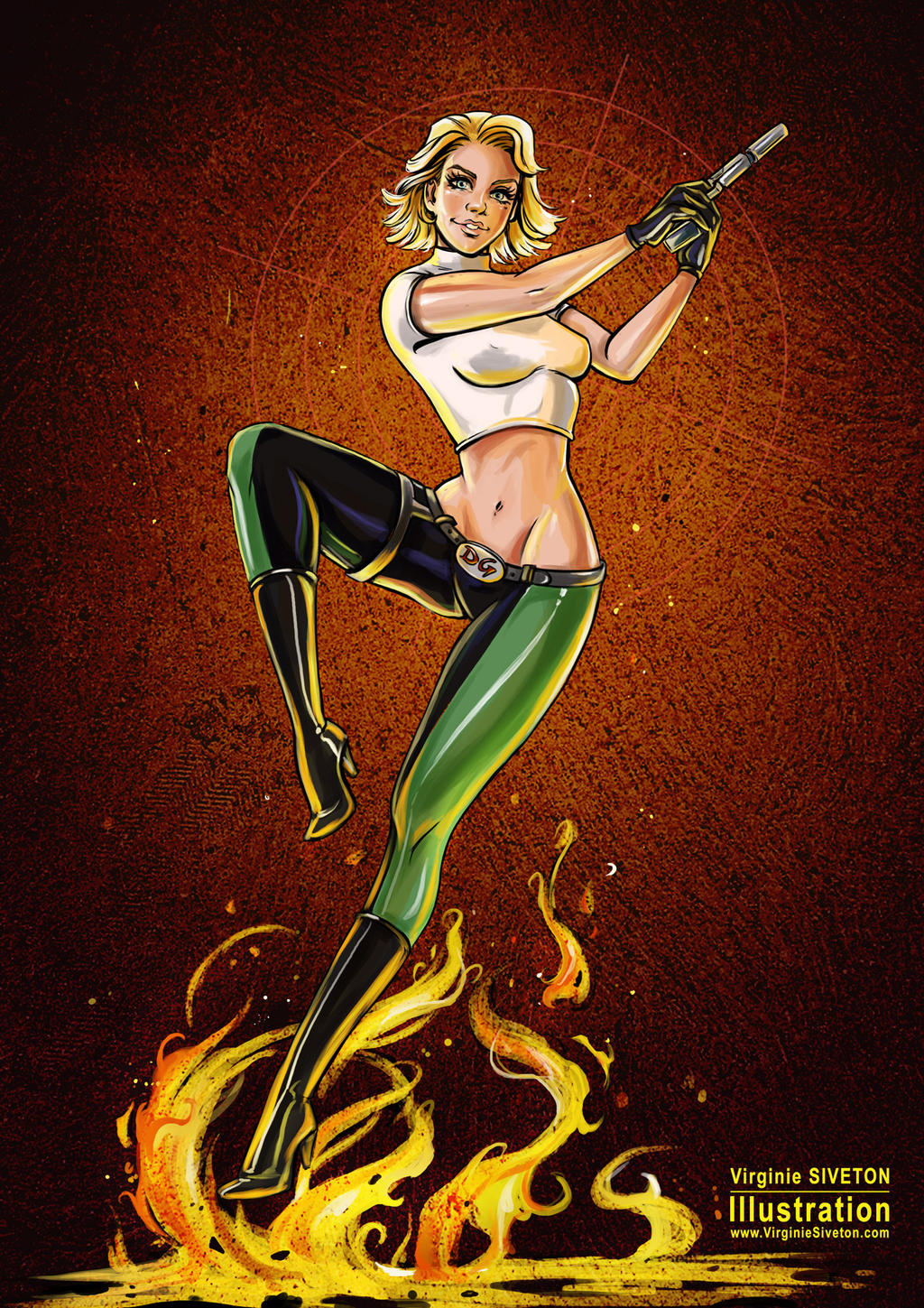 Abbey Chase from Danger Girl