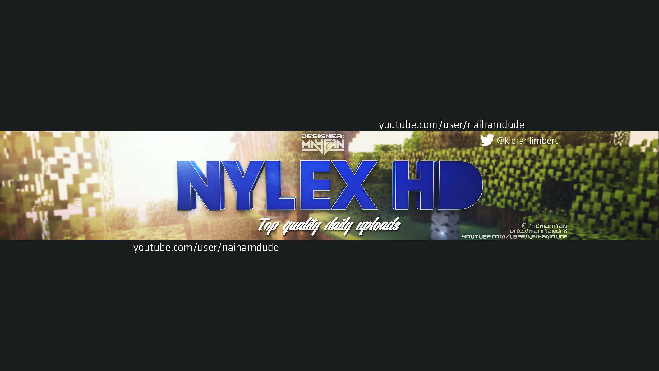 nylex HD Youtube Channel Art by VintagePeon on DeviantArt