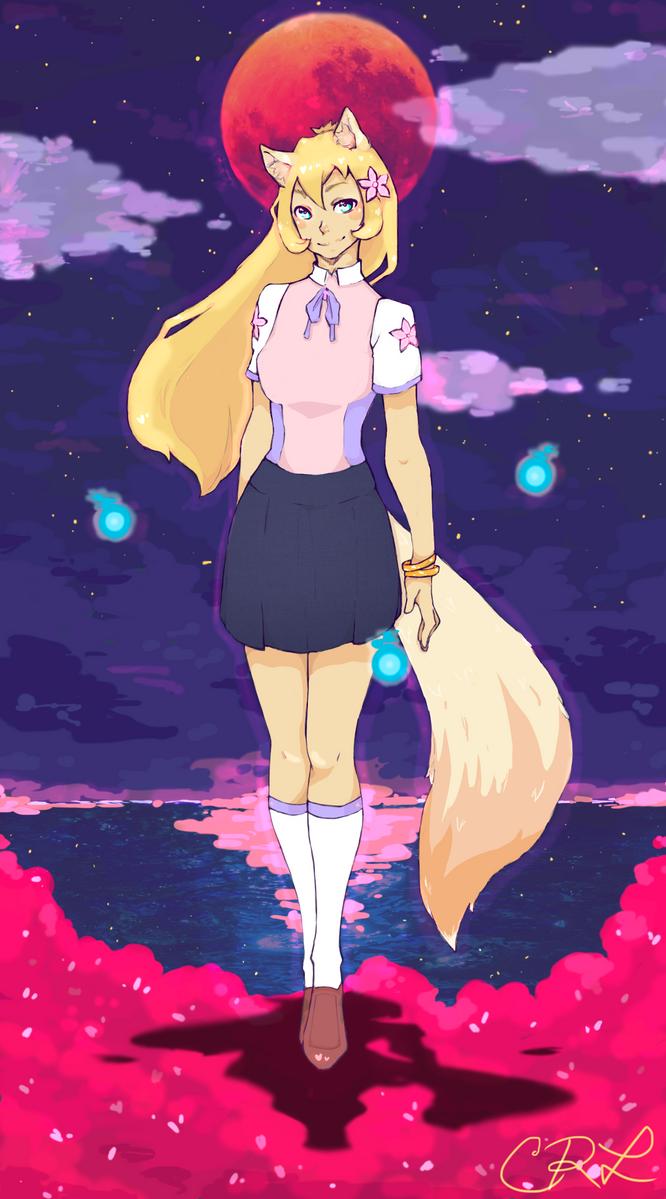 Tamsin by KitsuneHachiko