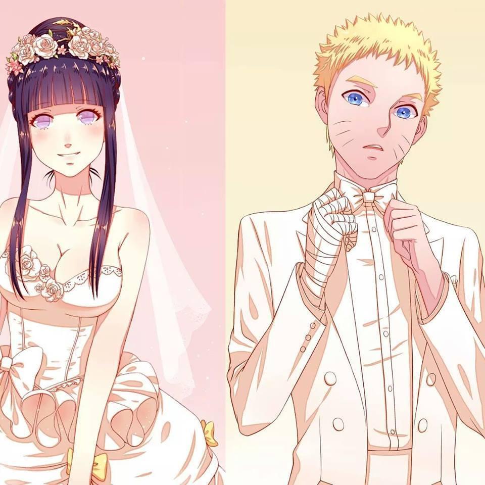 Naruto And Hinata Wedding By NF1ART On DeviantArt