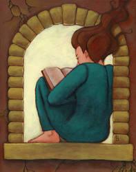 Reading Nook by puffbird