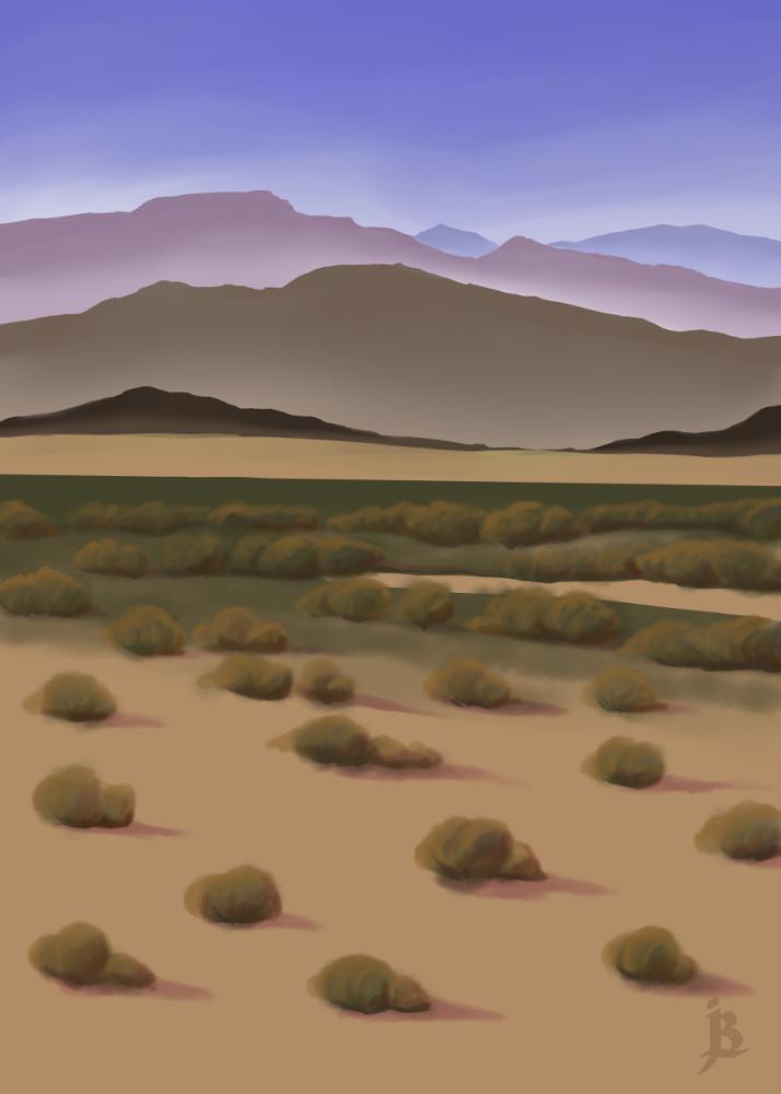 October 2016 Post Card: Mojave Desert by puffbird