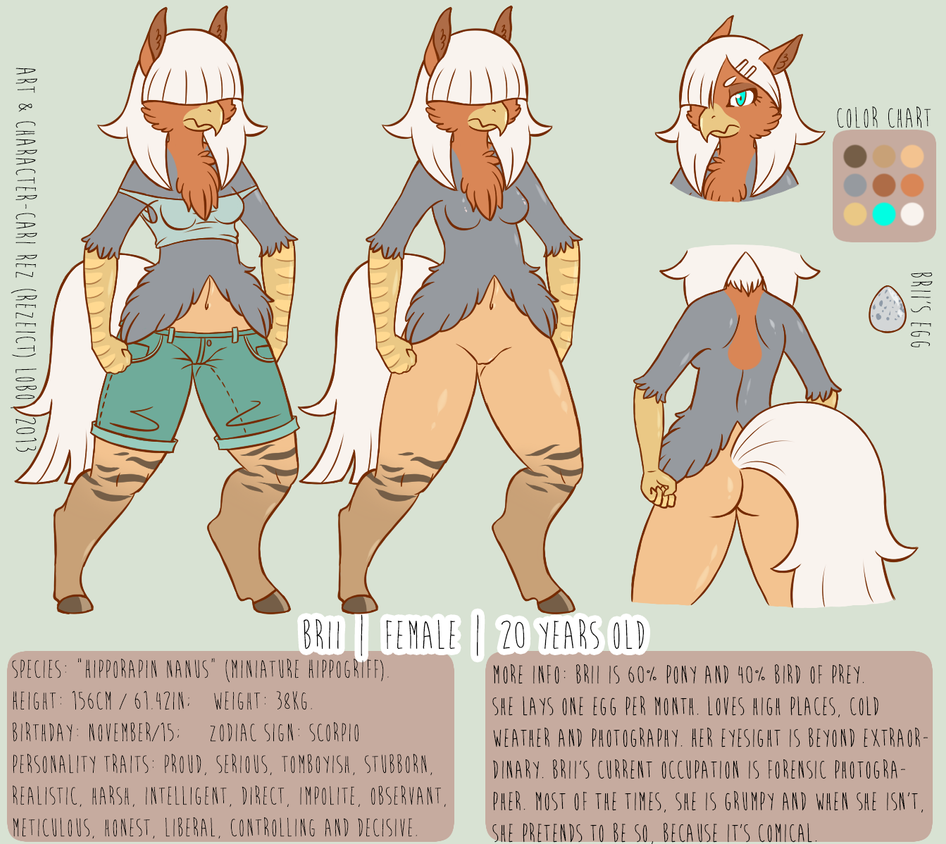 [Character Reference] Brii by Cari-Rez-Lobo