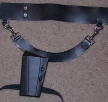 Lara Legend Gun Belt Rig! by pbbunnybear