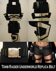 Tomb Raider Underworld Gun Belt Replica by pbbunnybear