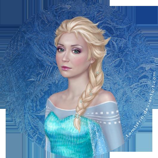 Elsa Frozen by tomtitRin