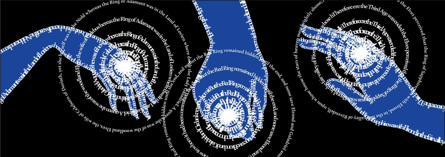 Three Rings. Bookmark by zdrava