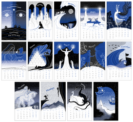 The Silmarillion Calendar 2013 by zdrava