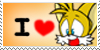 i love tails stamp no sub by cumeoart