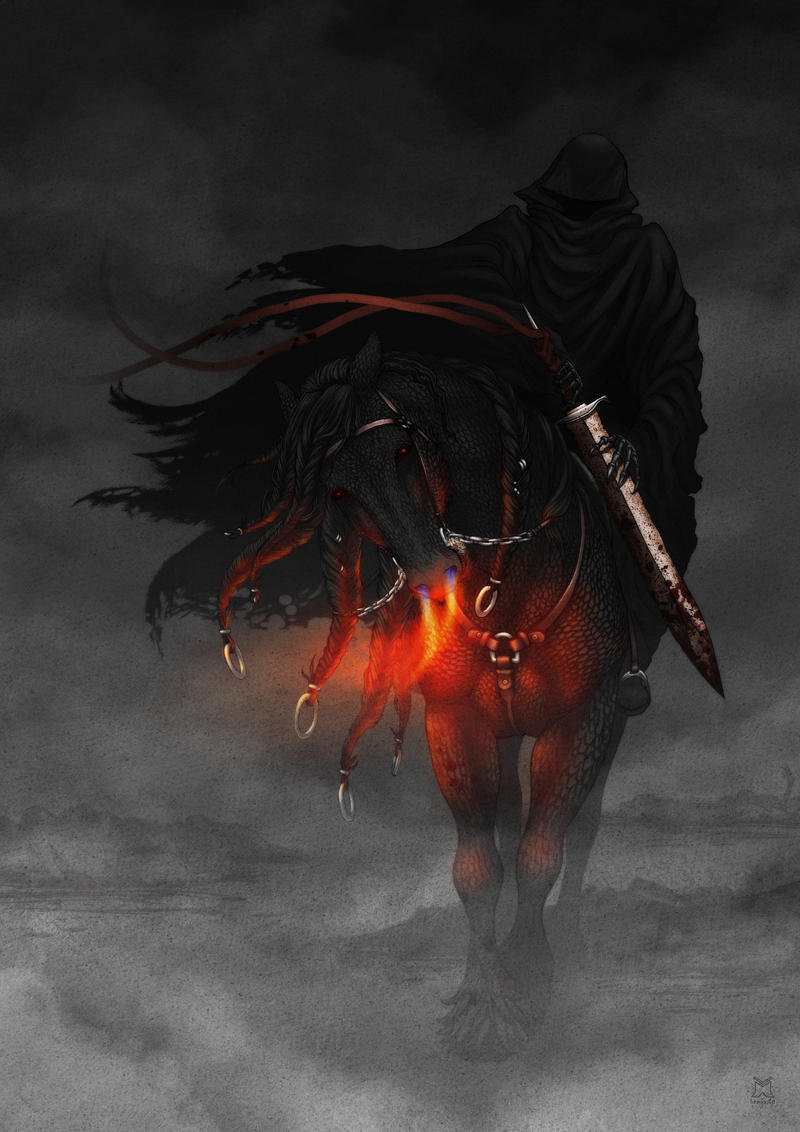 Horseman of the Apocalypse by linnyxito