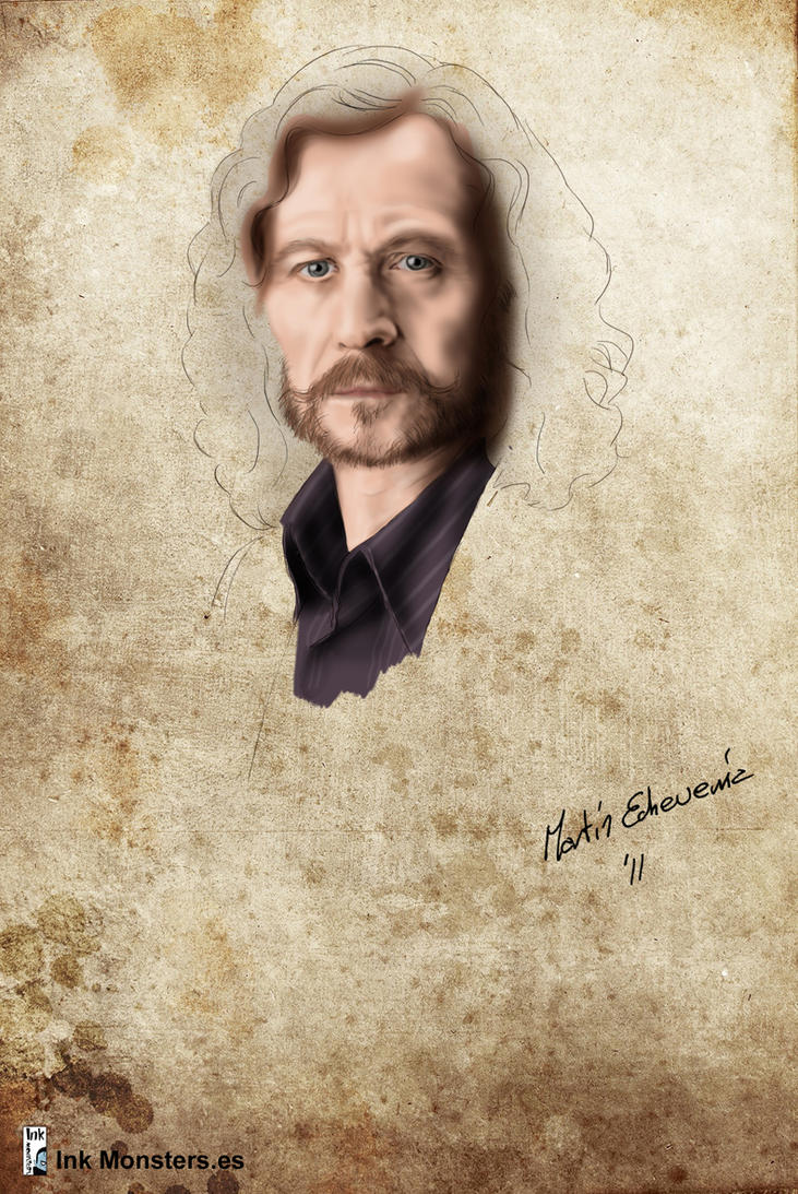 Harry Potter godfather Sirius Black by webmartin99