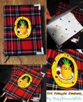 Gift: evil pineapple notebook by HazyDreamerNeko
