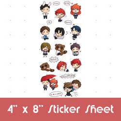 Gekkan Shoujo Nozaki-Kun: Highlights (Stickers)