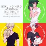 Boku no Hero Academia: Pets (Mini Prints)