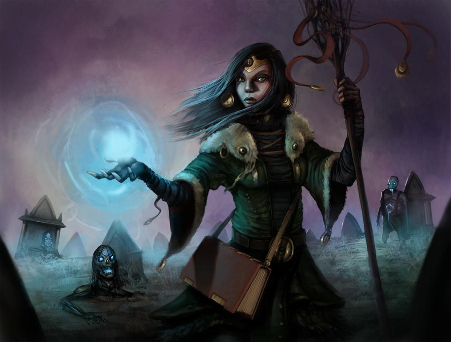 Lady of the grave by willpheonix
