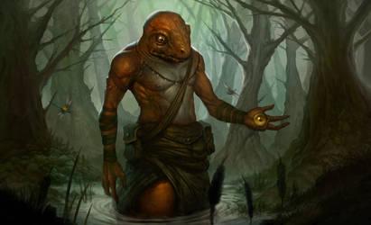 Swamp Shepherd by WillWarburton