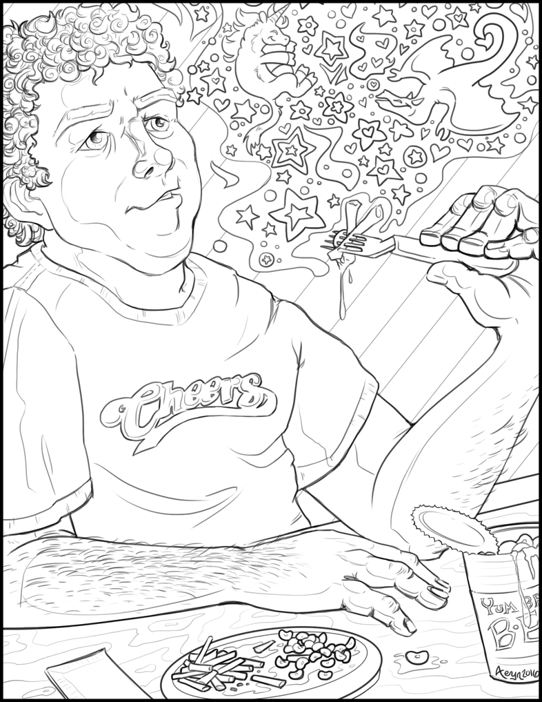 george_wendt_eating_beans_by_chaoskirin-