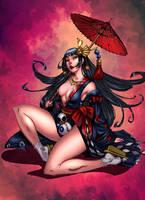 Momiji-Onmyoji! by BrunoCotic